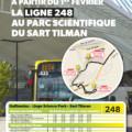 Dès le 1er février 2019, le bus 248 s'arrêtera au LIEGE science park !